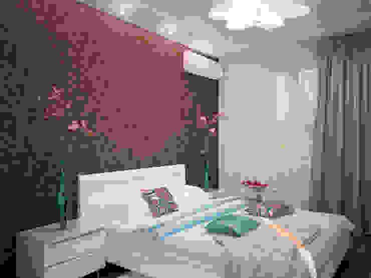 От дизайн проекта до готового объекта/3D визуализация Спальня в стиле минимализм от LD design Минимализм