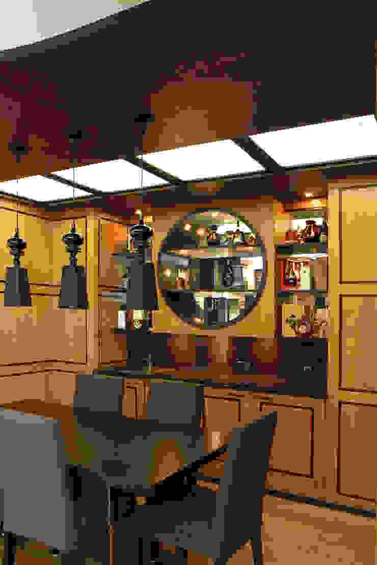 Бильярдная – это представительское пространство для души. Рабочий кабинет в стиле модерн от LD design Модерн