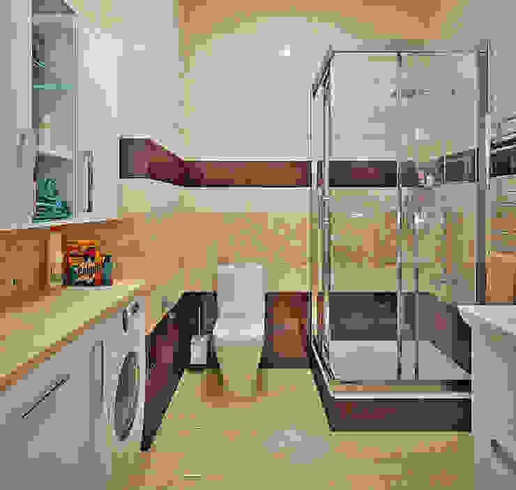 Морской стиль для гостиной и кухни Ванная комната в стиле модерн от Студия дизайна Interior Design IDEAS Модерн