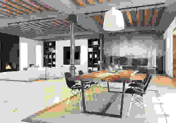 Pfayfer Fradina Design Scandinavian style dining room