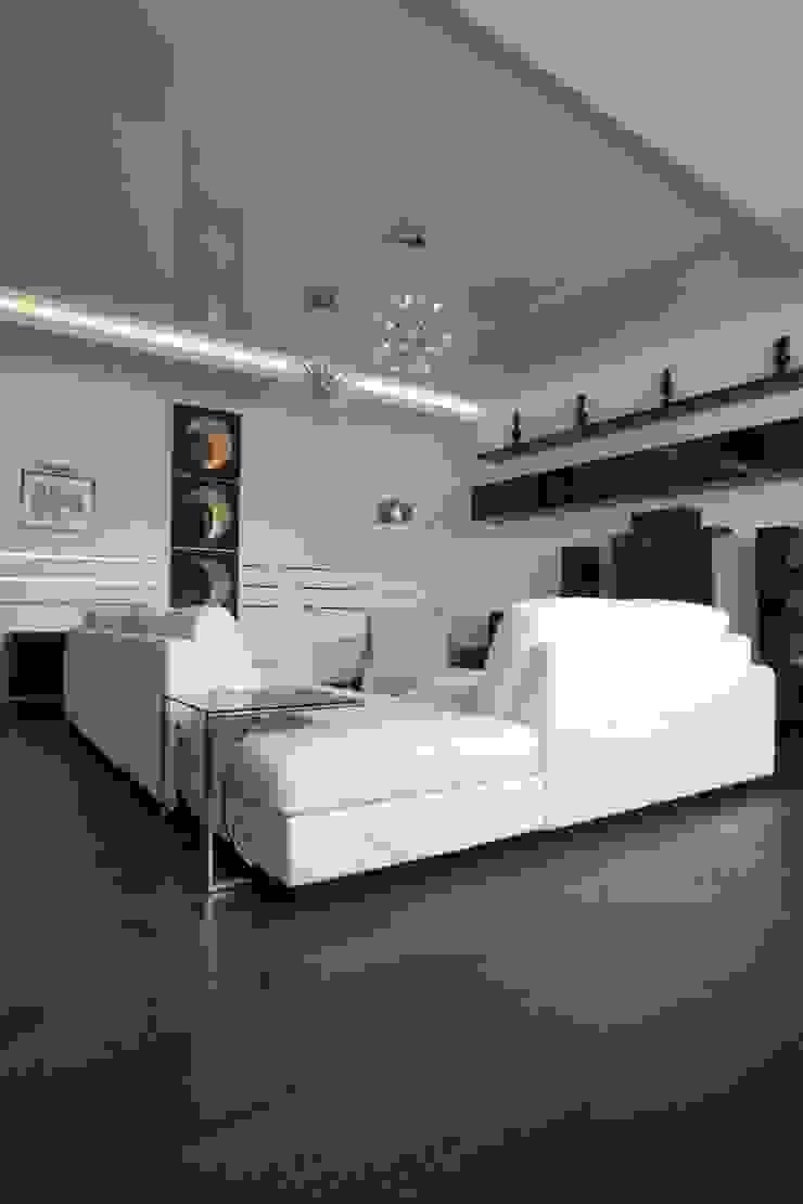 Livings de estilo minimalista de Павел Исаев Minimalista