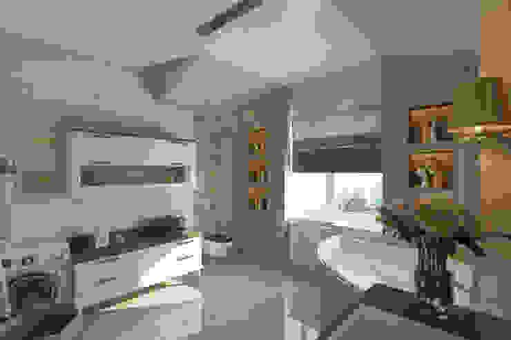 Дом Мастерская дизайна ЭГО Ванная комната в стиле модерн