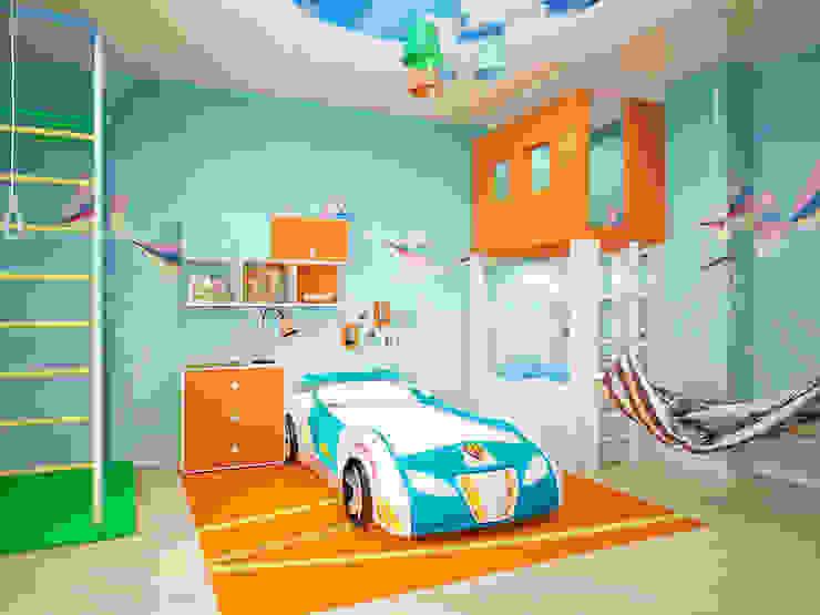 Дом Детская комната в стиле модерн от Мастерская дизайна ЭГО Модерн