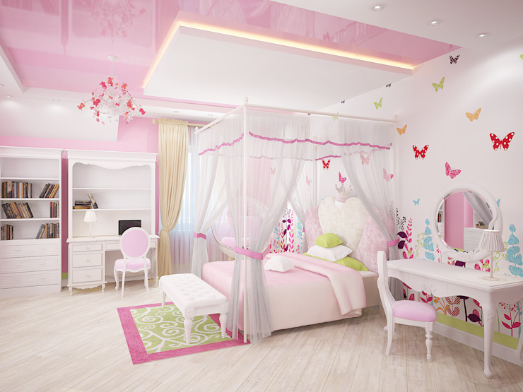 Дом Мастерская дизайна ЭГО Детская комнатa в классическом стиле