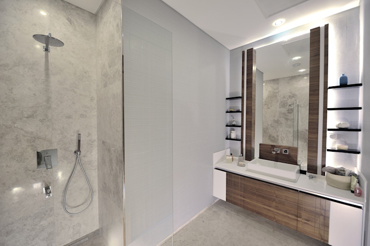 Modern bathroom by Voltaj Tasarım Modern