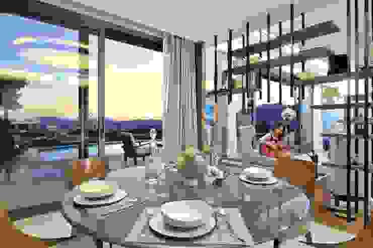 Modern dining room by Voltaj Tasarım Modern