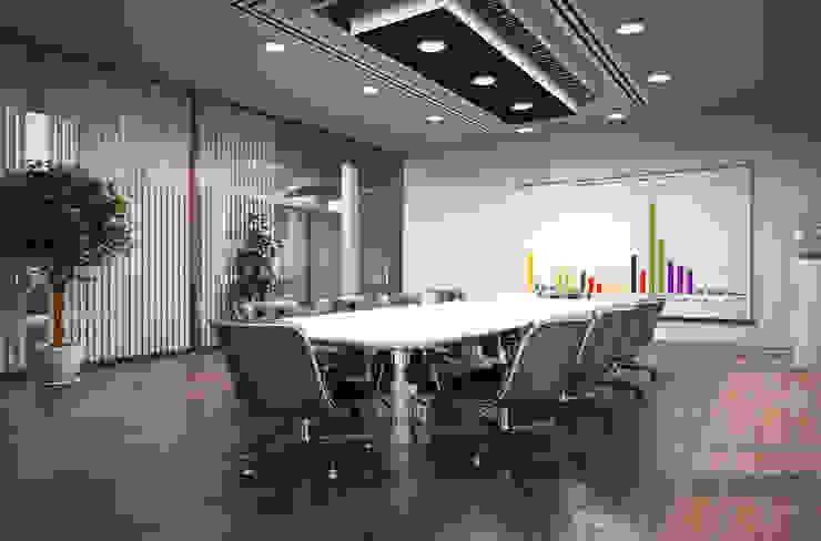 Salas multimedia modernas de I-Render Moderno
