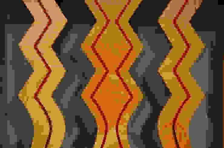 Detail back slats Coversation Peace 2 chair de Fine Furniture Ltd Moderno