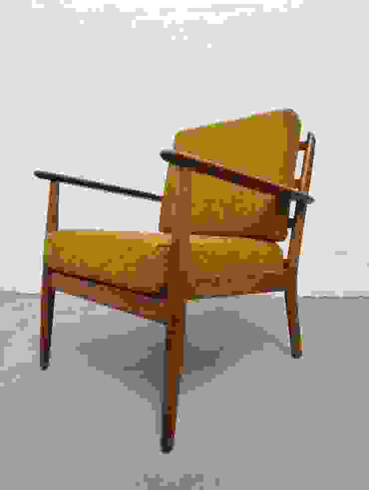 1960s Danish oak lounge chair : scandinavian  by Archive Furniture , Scandinavian