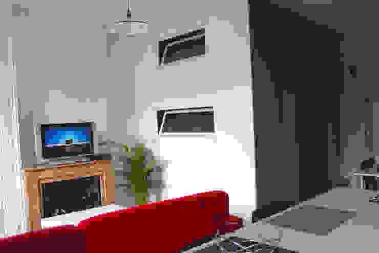 La mezzanine Chambre moderne par Atelier OCTA Moderne