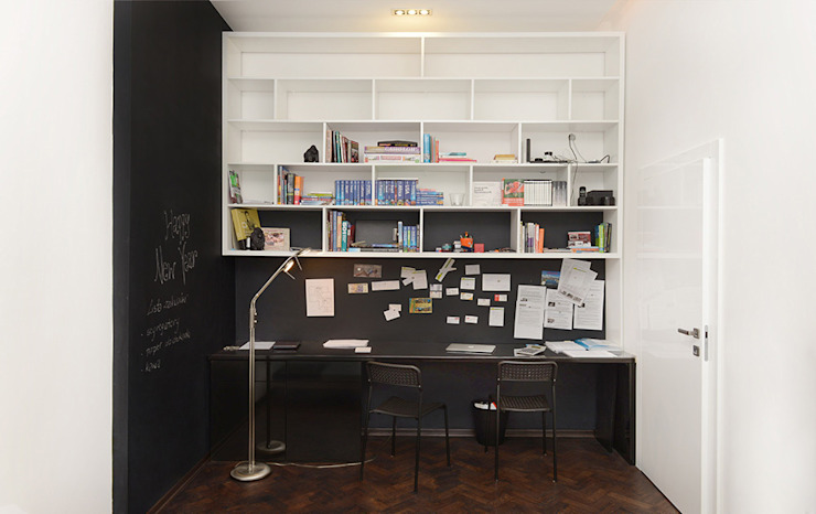 Minimalst style study/office by homify Minimalist