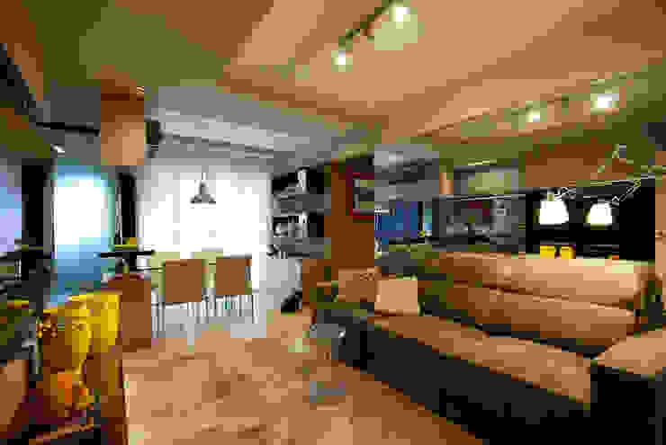 Neoarch Ruang Keluarga Modern