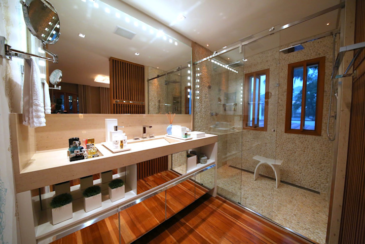 Modern style bathrooms by MeyerCortez arquitetura & design Modern