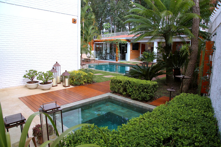 Pool von MeyerCortez arquitetura & design, Modern