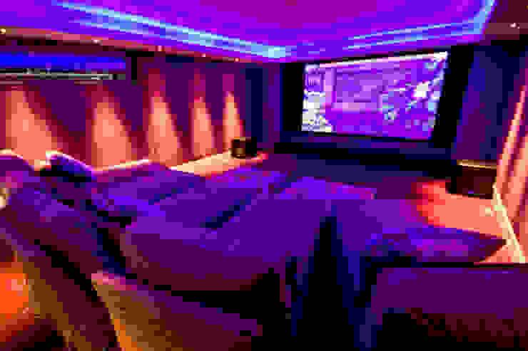 Media room by shep&kyles design