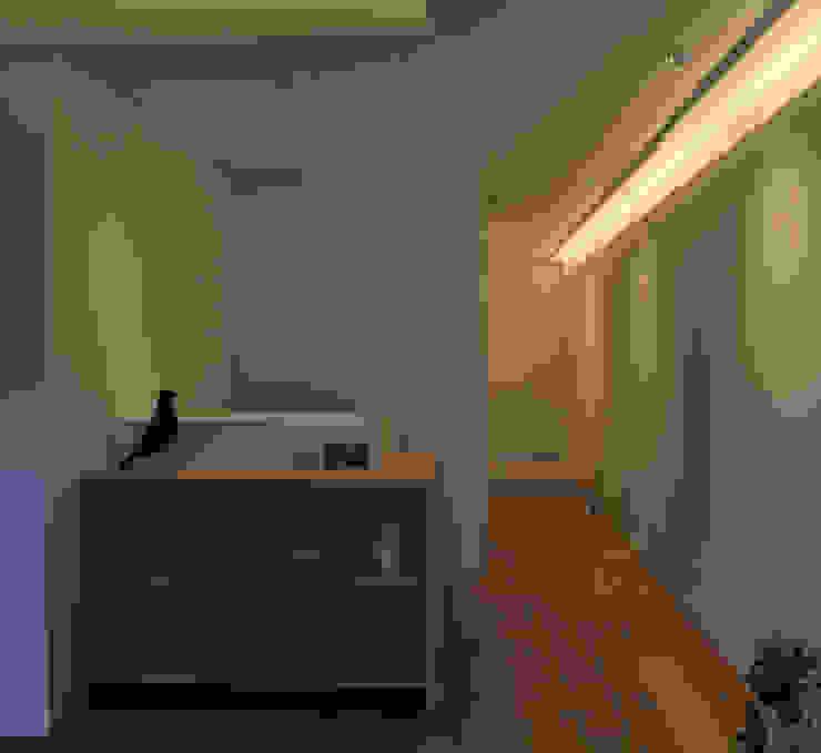 reception desk 白坂 悟デザイン事務所 北欧風商業空間