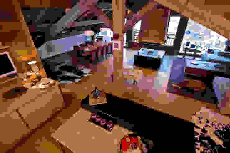 Wohnzimmer im Landhausstil von shep&kyles design Landhaus