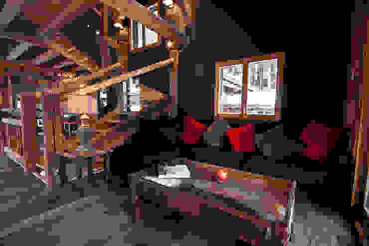 Woonkamer door shep&kyles design, Landelijk