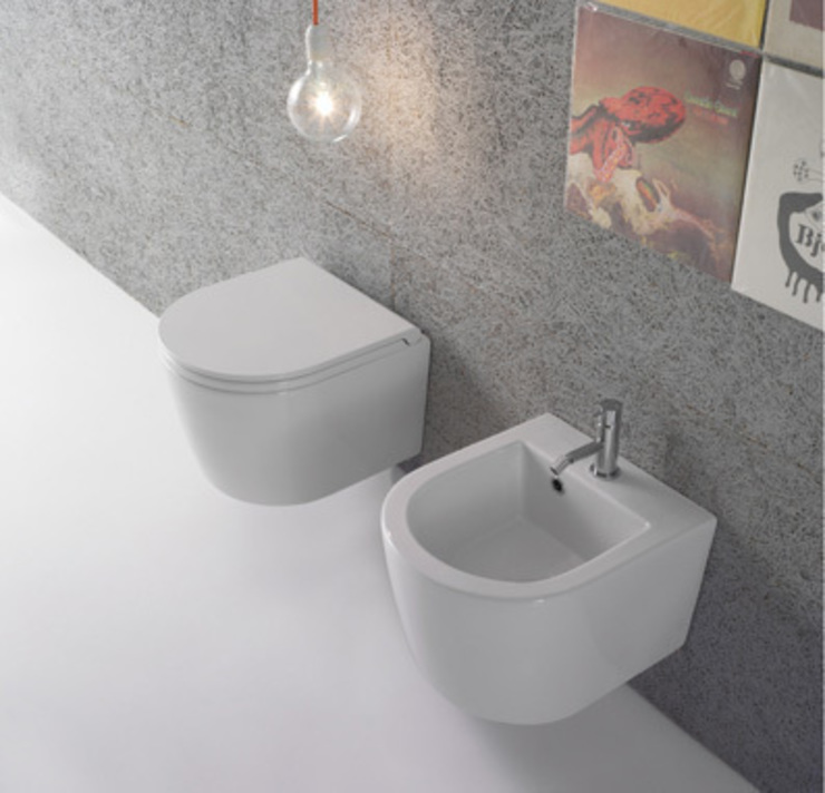 Modern bathroom by bagno chic Modern