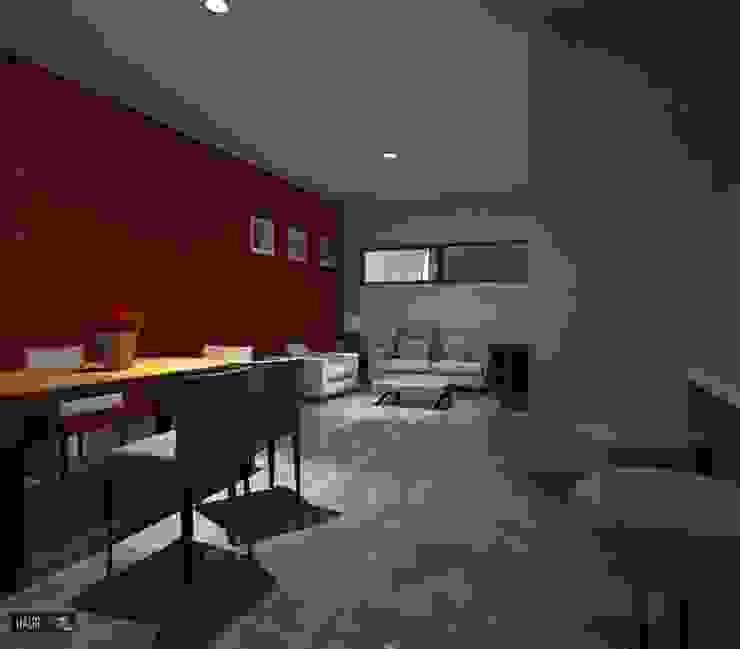 CASA RB Comedores modernos de hausing arquitectura Moderno