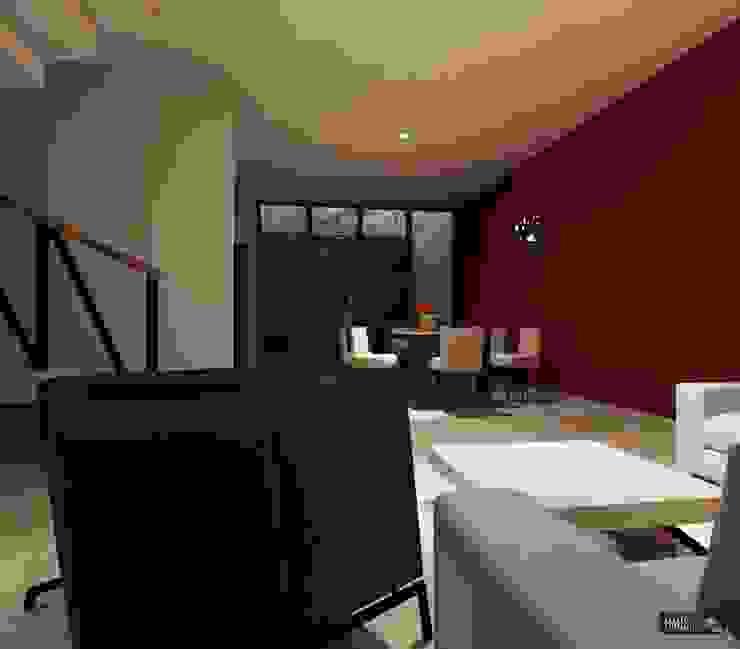 CASA RB Estudios y despachos modernos de hausing arquitectura Moderno