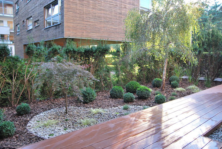 Jardines de estilo minimalista de Ogrody Przyszłości Minimalista
