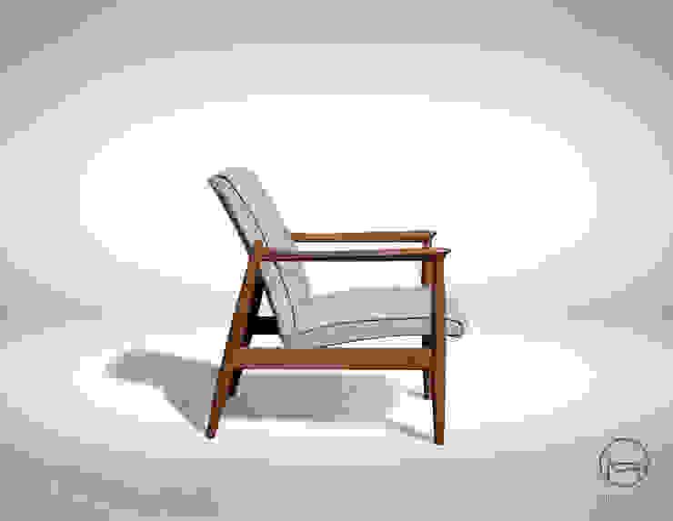 Ferraro - fotel z lat 60-tych od homify Klasyczny
