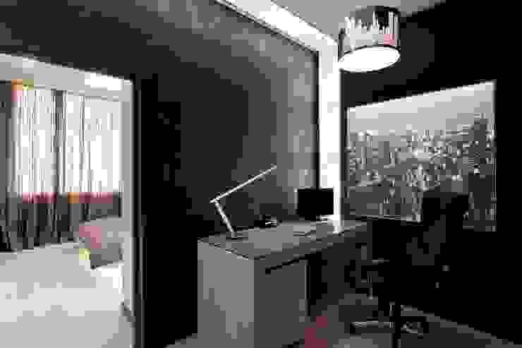 Рабочий кабинет Рабочий кабинет в стиле минимализм от Gorshkov design Минимализм