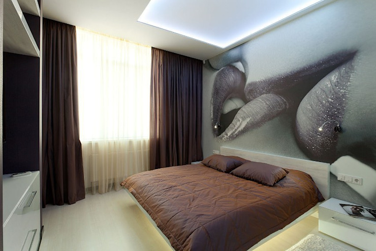 Спальня Спальня в стиле минимализм от Gorshkov design Минимализм