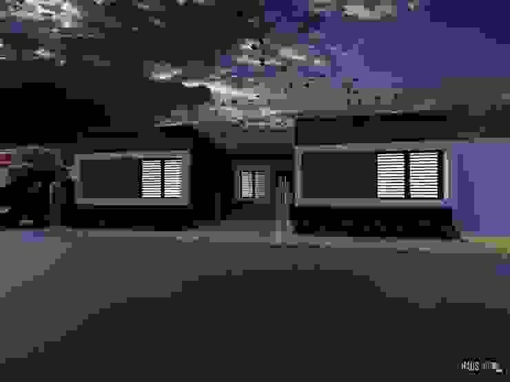 PROTOTIPOS DE VIVIENDAS DE INTERES SOCIAL Casas modernas de hausing arquitectura Moderno