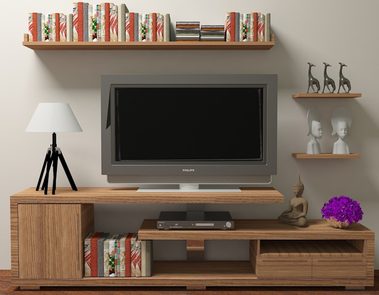 Living room by İki İç Mimar
