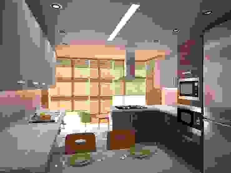 ANTRİVA EVLERİ Modern Mutfak İki İç Mimar Modern