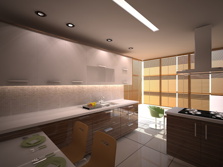 Modern kitchen by İki İç Mimar Modern