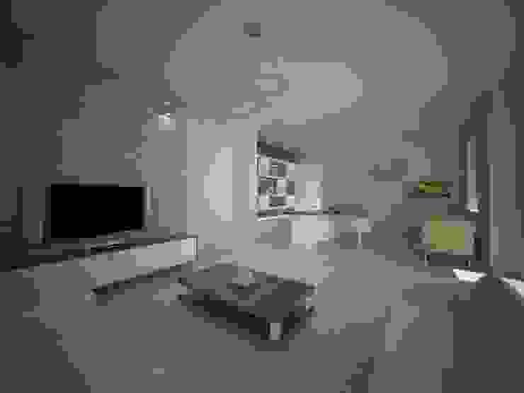 ANTRİVA EVLERİ Modern Oturma Odası İki İç Mimar Modern