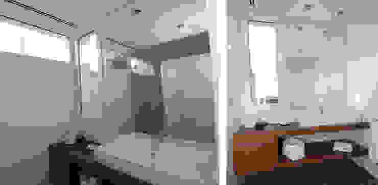 Detached house in Binibeca Modern Bathroom by FG ARQUITECTES Modern