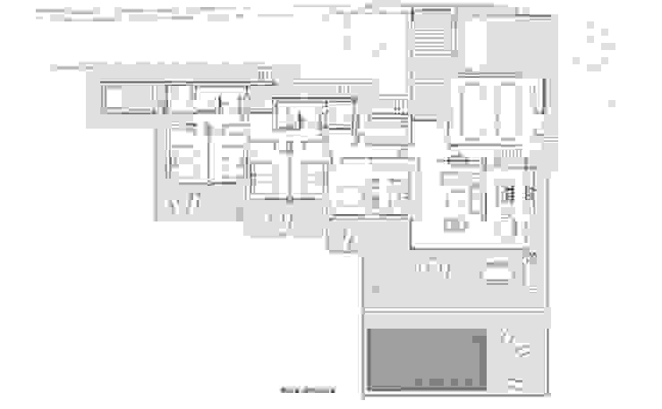 Ground floor plan by FG ARQUITECTES