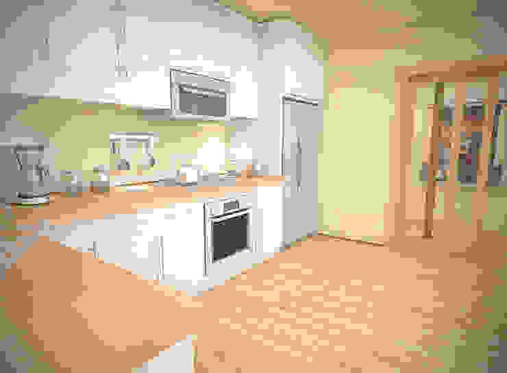 MUTFAK Modern Mutfak İki İç Mimar Modern