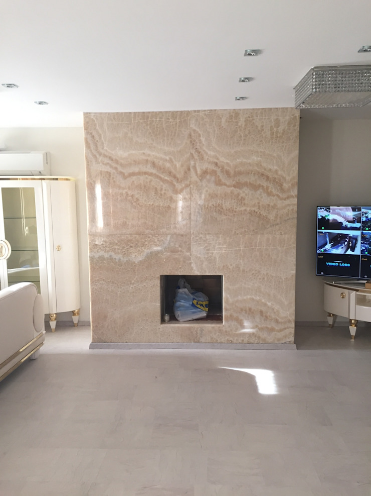 Luxury Stone Modern Yemek Odası Luxury Stone / Billionaire Furniture Club Modern