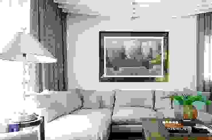 гостиная Гостиные в эклектичном стиле от Roomsbyme Эклектичный