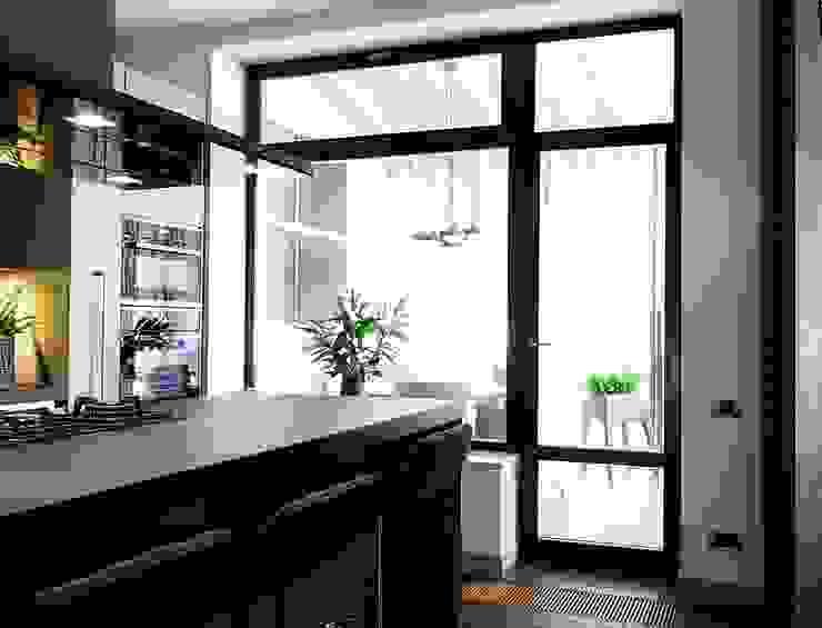 кухня Кухня в стиле минимализм от Roomsbyme Минимализм