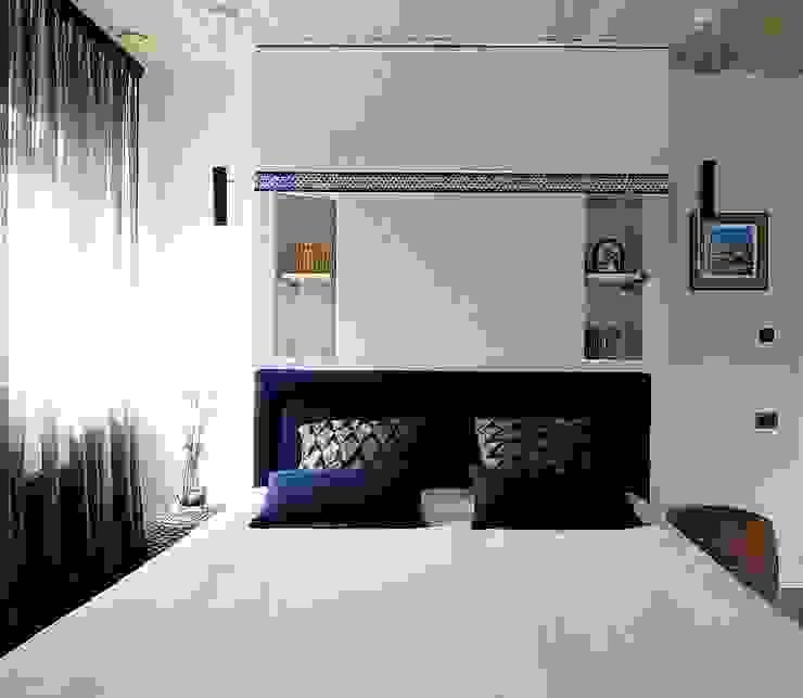 Новогорск 2 Спальня в эклектичном стиле от Roomsbyme Эклектичный