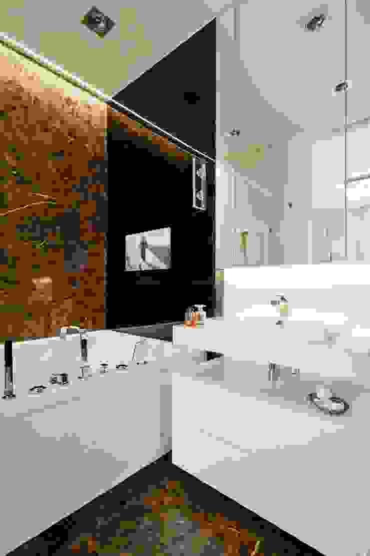 Łazienka pełna relaksu. Nowoczesna łazienka od living box Nowoczesny