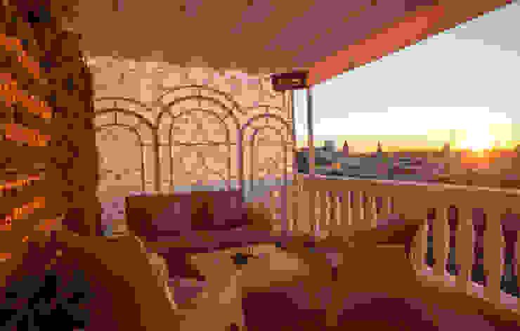 Terraza habitaciones Hoteles de estilo clásico de DyD Interiorismo - Chelo Alcañíz Clásico