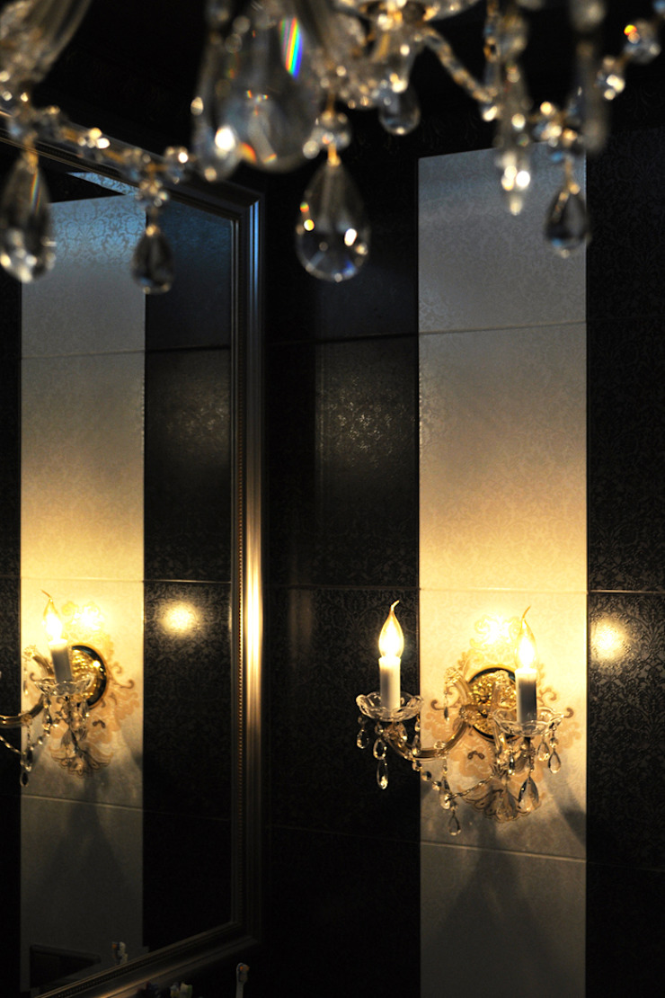 Квартира 150м2. Екатеринбург. ул.Шварца, 14. Tutto design Ванная комната в эклектичном стиле