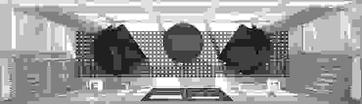 Спальня ар-деко Балконы и веранды в эклектичном стиле от Kalista Эклектичный