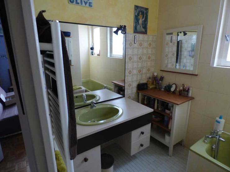 Etat des lieux salle de bains par Pauline VIDAL - Architecte d'Intérieur CFAI