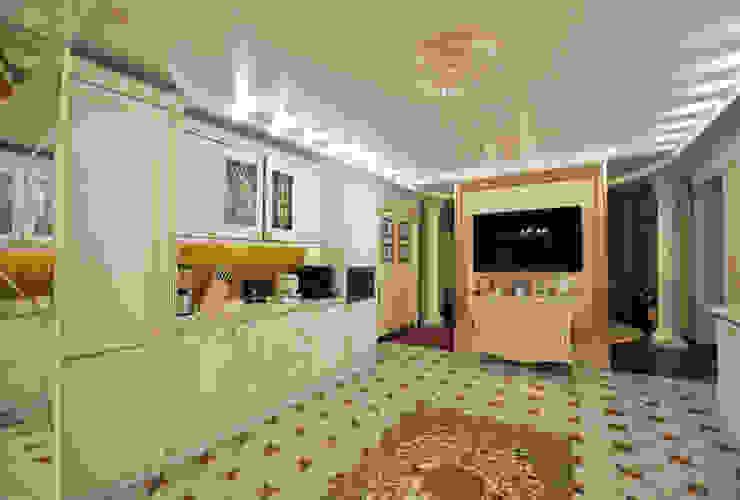 Реализация интерьера коттеджа 250м2 в Тюменской обл., город Тобольск. Кухня в классическом стиле от Tutto design Классический