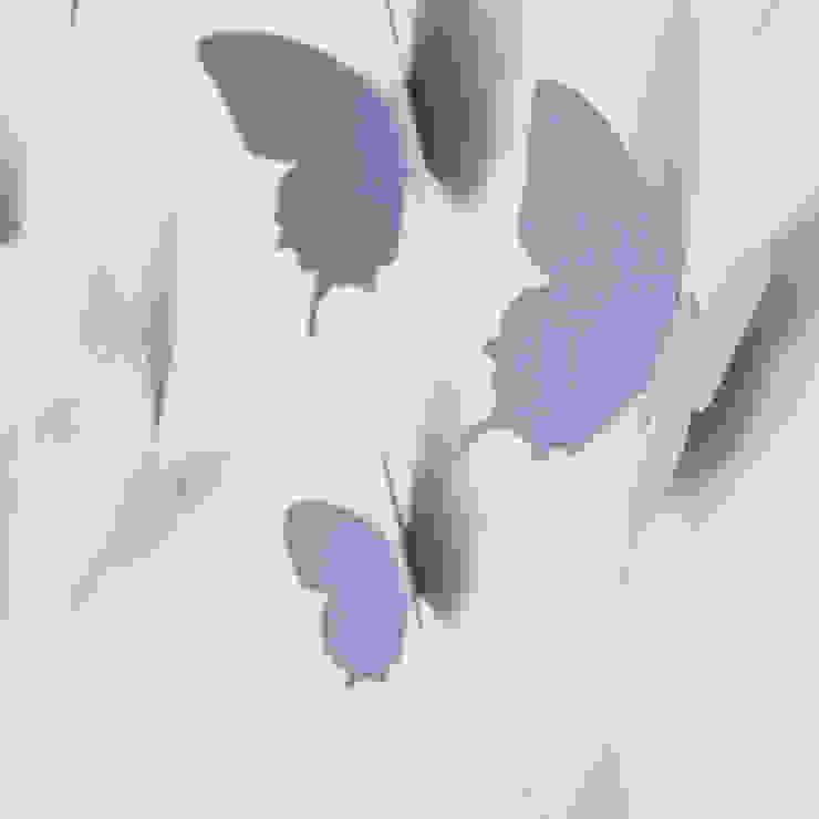 3d Schmetterling In Flieder Von Your Design De Von Your Design Ausgefallen Homify