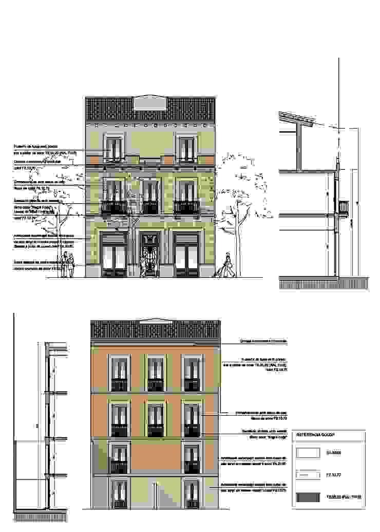 Rehabilitación edificio de viviendas en Barcelona de Lavolta