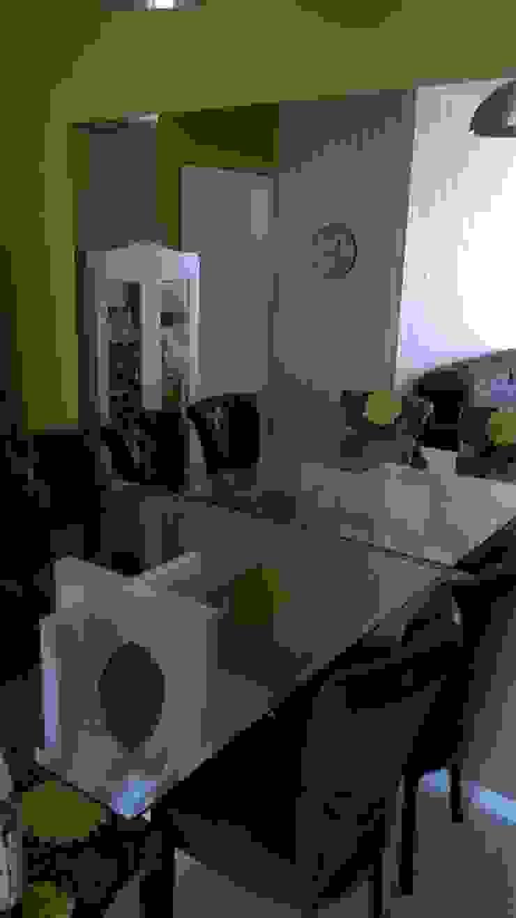 Jantar Salas de estar modernas por casulo arquitetura design Moderno
